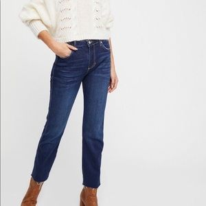 Free People Girlfriend Jeans
